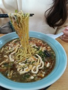 Hot and sour noodles (Sura Tanmen)
