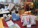Rice and other goods for sale